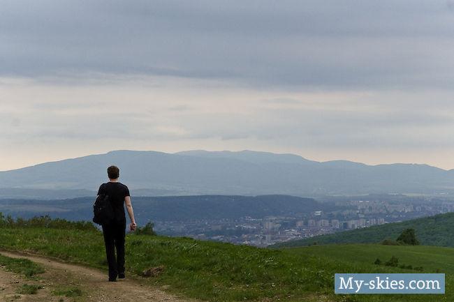 Wanderung um Košice herum